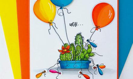 Balloon Cactus Garden