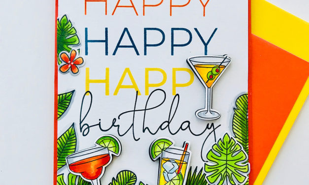 Birthday Drinks for You!