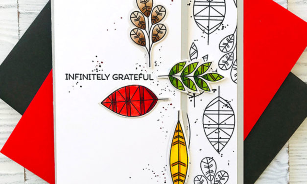 Geometric Greenery Offers Infinite Gratitude