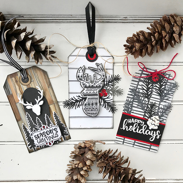 Stag Tags for the Holidays