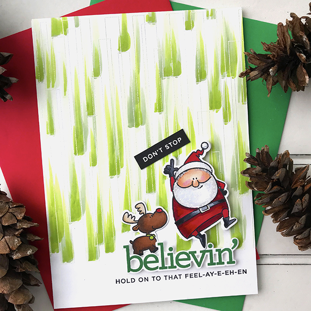Don't Stop Believin' in the magic of the season!