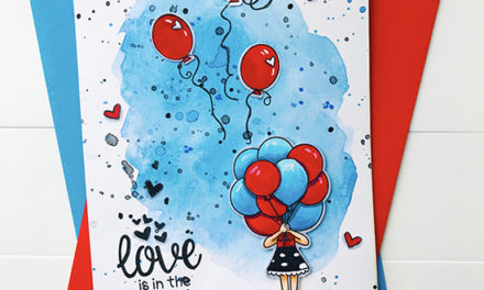 Love is in the Air -Inky Paws Challenge #88