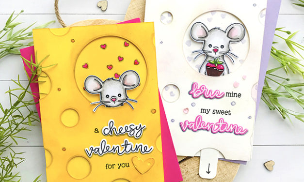 Cheesy Valentines With a Surprise Inside!