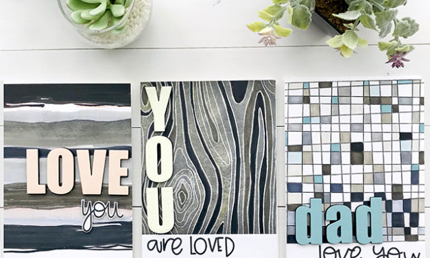 Backgrounds Perfect for Masculine Cards