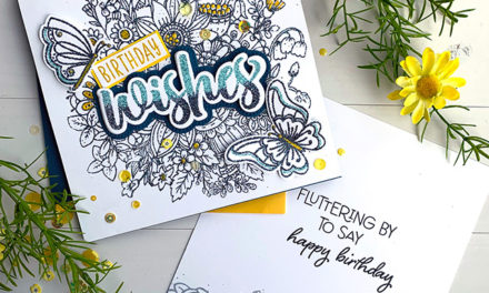 Something Sparkly and New At Honey Bee Stamps!