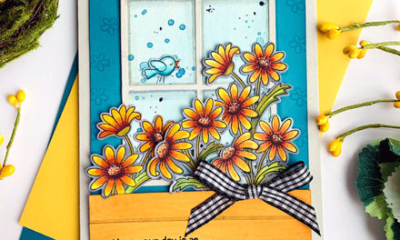 Dainty Daisies for the Inky Paws Challenge