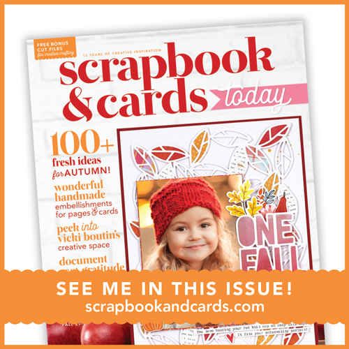 I've been published in Scrapbooks & Cards Today!