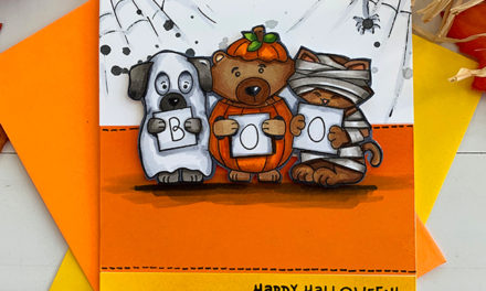 A Halloween-Themed Challenge at Inky Paws