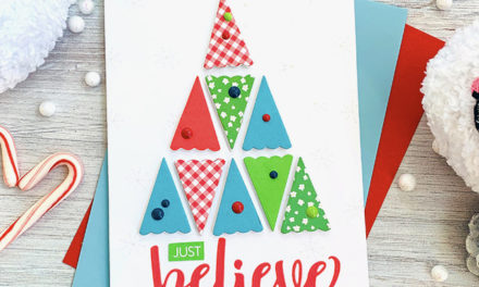 Believe in Simplicity for Holiday Cards!
