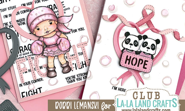 Hope & Courage in the Dec 2019 La-La Land Club Kit