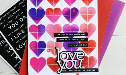 Love You More Release from Simon Says Stamp