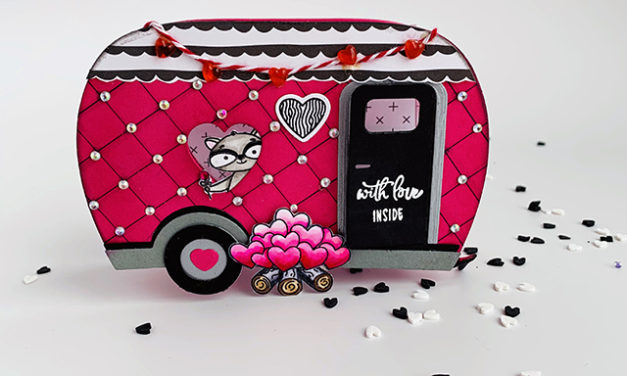 Valentine Camper Treat Box