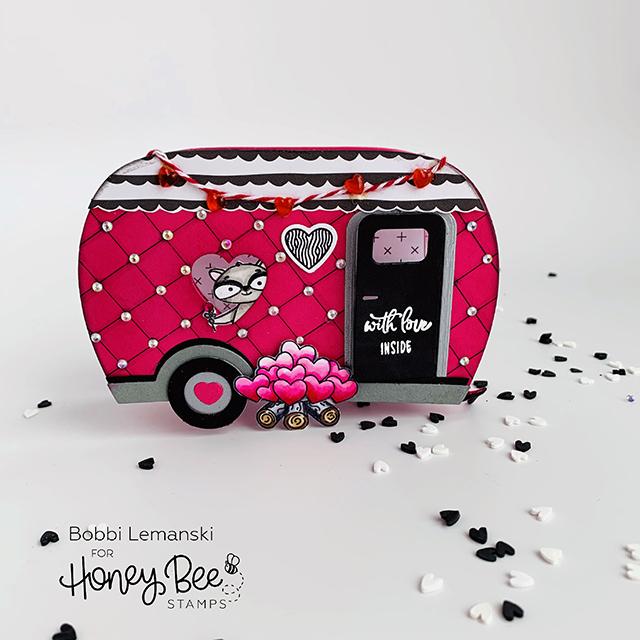 Valentine Camper Treat Box