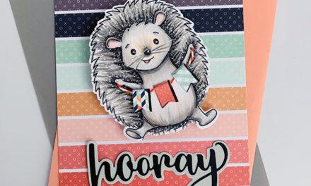 Hope the Hedgehog Hooray!