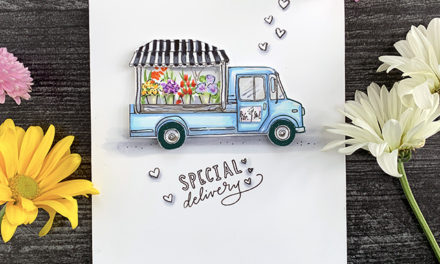 A Floral Truck Inspired by a DC Florist