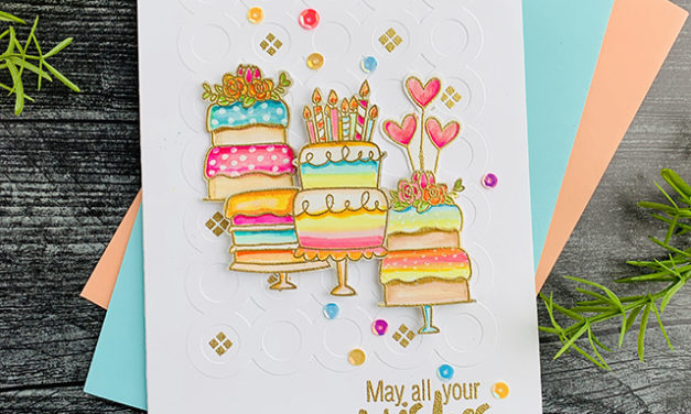 New Embossing Challenge at Jane's Doodles