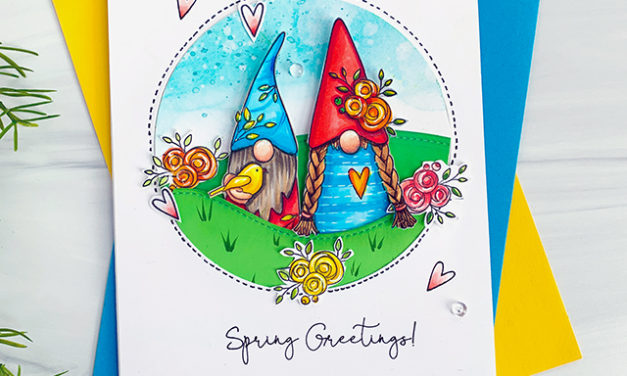 Spring Greetings from the Gnomes!