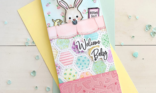 Welcome Baby in Blanket