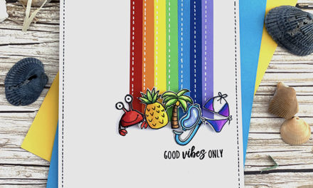 New Rainbow Card Challenge – Jane's Doodles