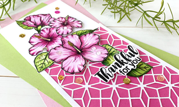 Add Those Embellishments! A New Jane's Doodles Card Challenge