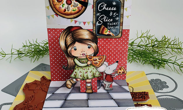 Pizzeria Pop-up Card –  New La-La Land Crafts Club Kit