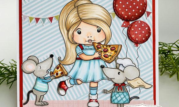 It's a Pizza Party! La-La Land Crafts April Club Kit