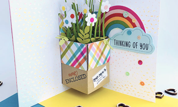 Bouquet in a Box Pop-Out Greeting