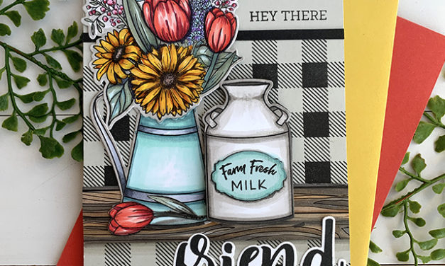 Farm Fresh Florals and 15% off at Honey Bee Stamps