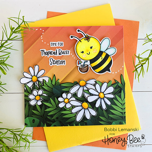 Day 2: It's Beekini Season! Honey Bee Stamps Sneak Peeks