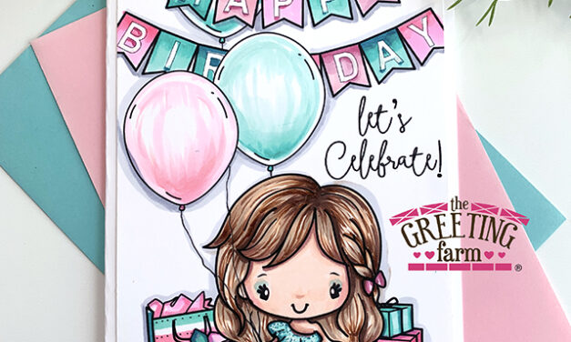 NEW! Happy Birthday Digi Set by The Greeting Farm