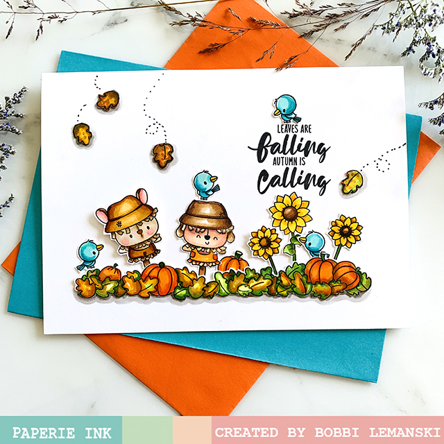 Leaves are Falling at Paperie Ink