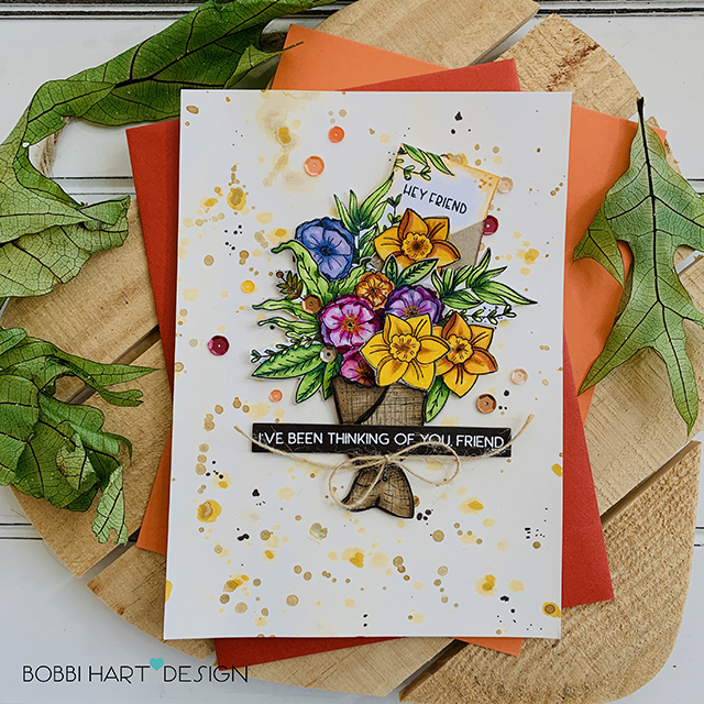 A Flourishing Bouquet from The Gray Muse