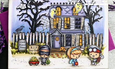 Halloween Night by The Greeting Farm