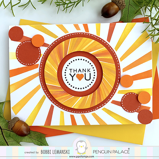 More Sunshine With Stencils from Penguin Palace