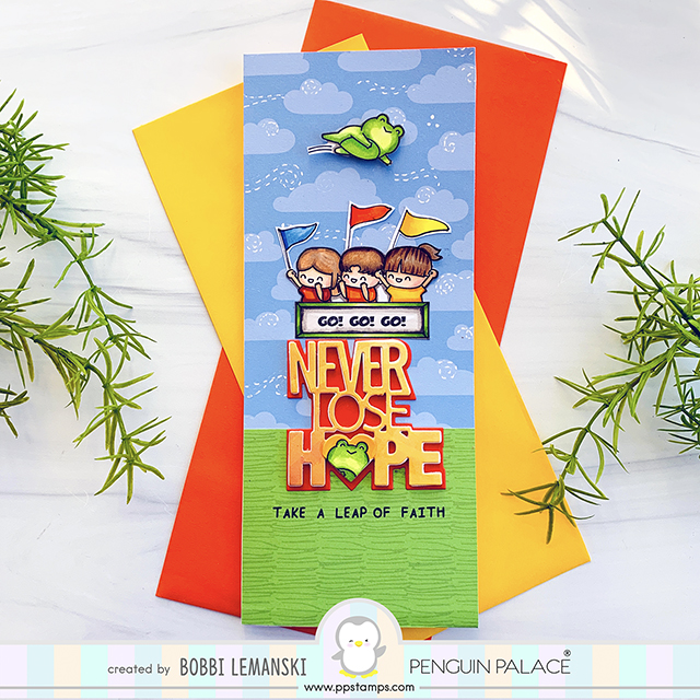 Never Lose Hope by Penguin Palace Stamps