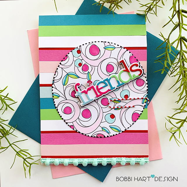 It's DIEcember at Simon Says Stamp – Friends Card