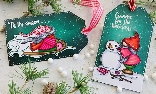 Winter Gnome Tags for Christmas