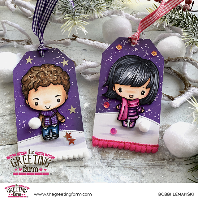 NEW Dress Up Winter Digis By The Greeting Farm