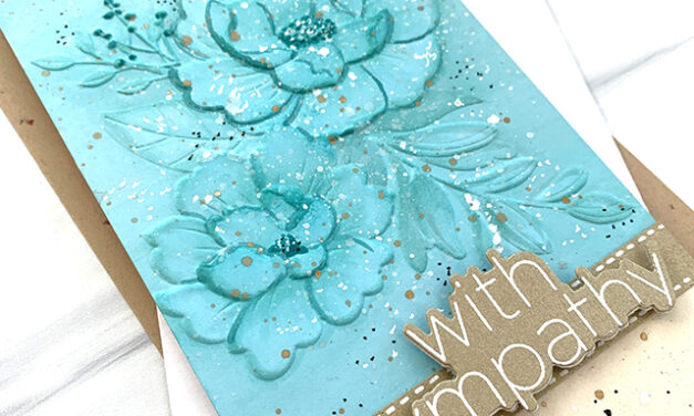 Peony Bundle Embossing Folder