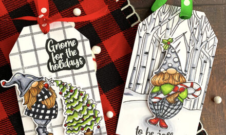Woodland Gnomes with Sweet 'N Sassy Stamps
