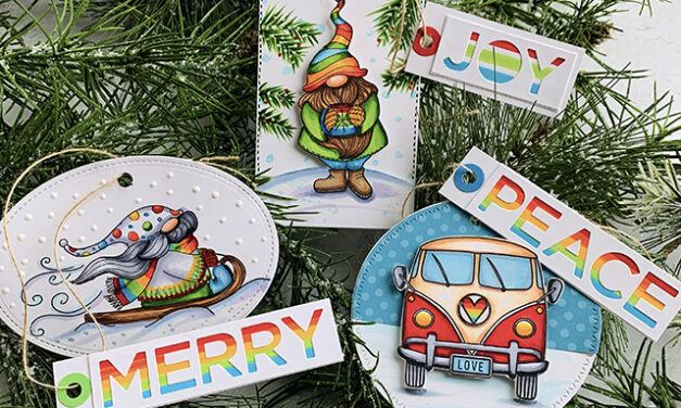 Merry, Peace and Joy Holiday Tags