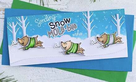 It's Snow Mole-bile Season!