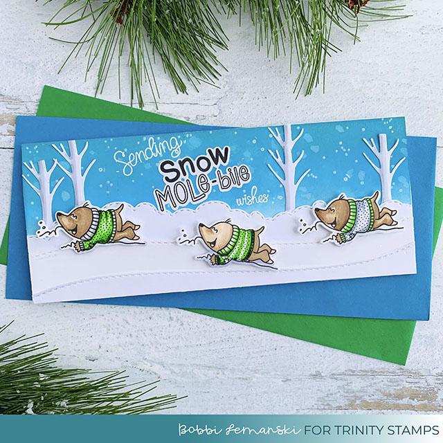 It's Snow Mole-bile Season!