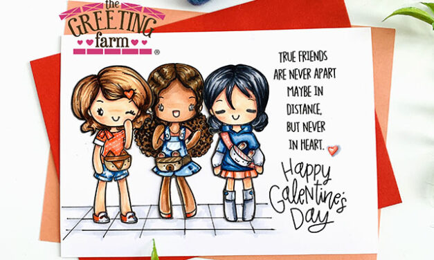 Happy Galentine's Day by The Greeting Farm
