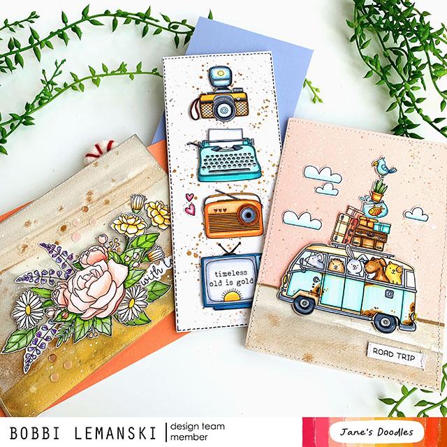 Jane's Doodles Blog Hop -Road Trip!