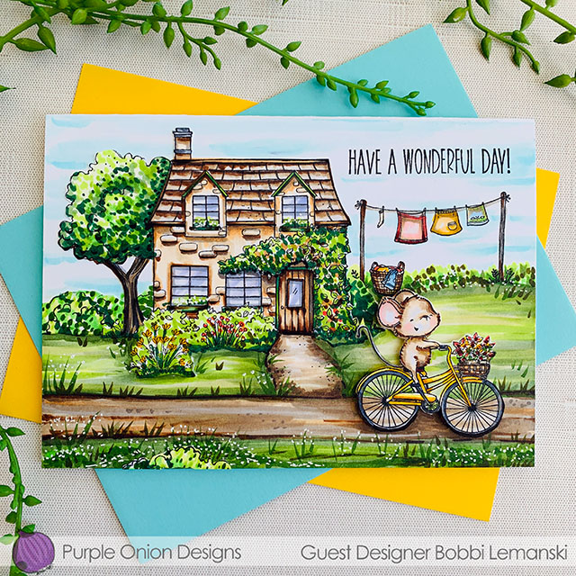 A Country Ride – Guest Designer for Purple Onion Designs