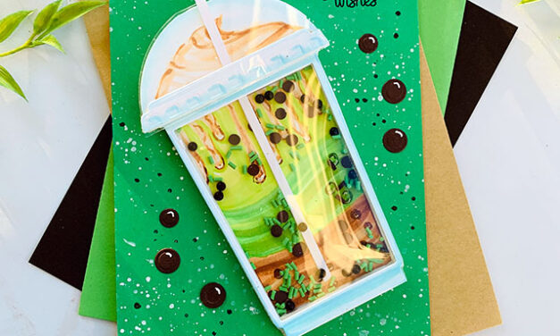 National Bubble Tea Day Hop with Trinity Stamps and Coffee Loving Cardmakers!