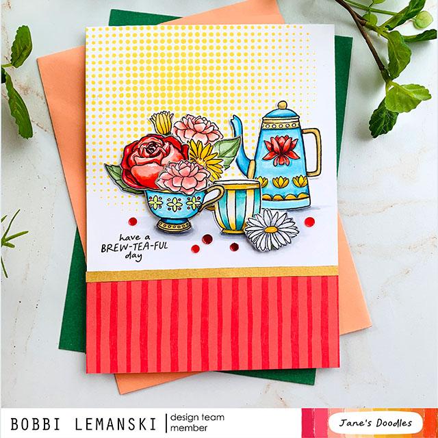 Brew-Tea-Ful Blog Hop for Jane's Doodles
