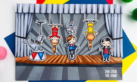 Le Cirque Stage Show Showcasing Artist, Popsicles
