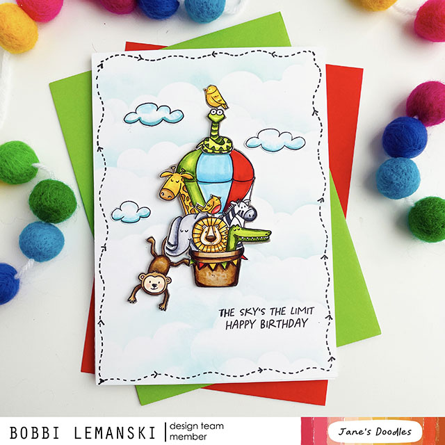The Sky's the Limit Jane's Doodles Blog Hop